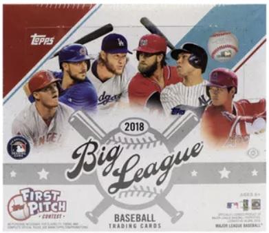 2018 Topps Big League Baseball Hobby Box Break Review Sports