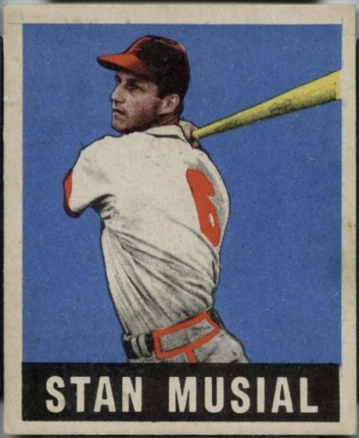 Card Of The Day Stan Musial 1948 Leaf 4 Sports Card Info