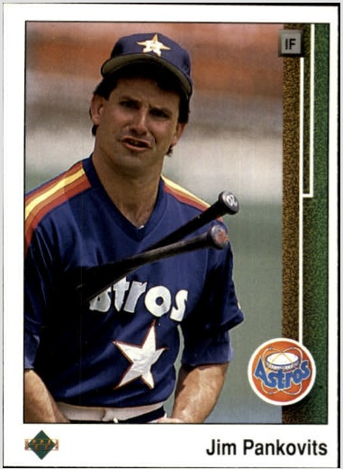 Card Of The Day Jim Pankovits 1989 Upper Deck 100 Sports Card Info