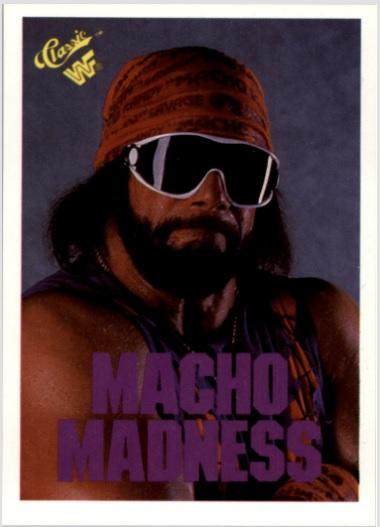 Card Of The Day 1990 Classic Wwf Macho Man Randy Savage 60