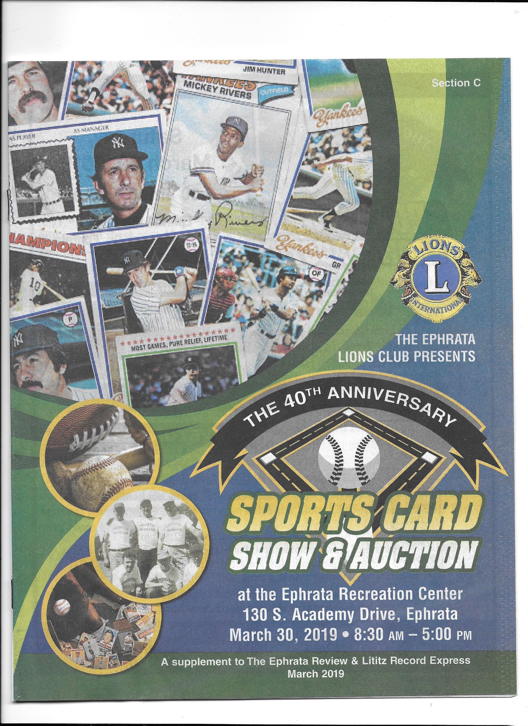 Card Shows Sports Card Info