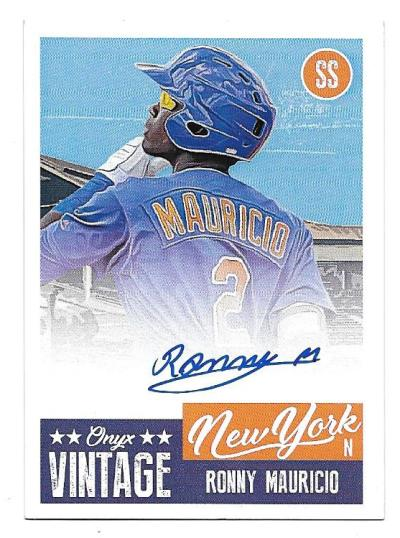 Mets '19 Onyx Authenticated Vintage Collection Auto Contest!