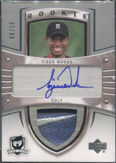 Card Of The Day Tiger Woods 2009 10 Upper Deck The Cup Sidney