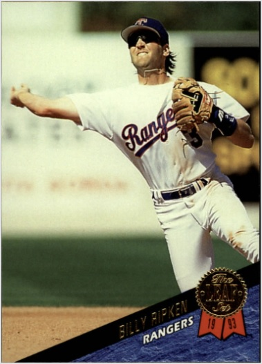 card of the day billy ripken 1993 leaf 435 sports card