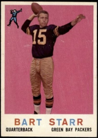 Card Of The Day Bart Starr 1959 Topps 23 Sports Card Info