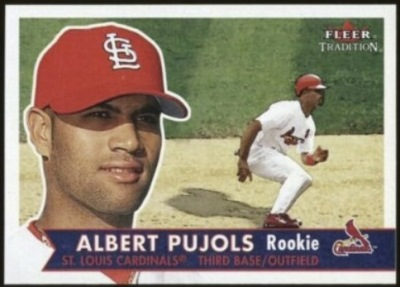 How To Spot A Fake Albert Pujols 2001 Fleer Tradition 451