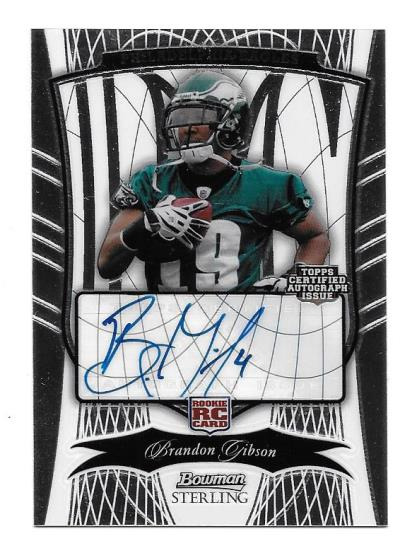 Eagles '09 Bowman Sterling Auto Contest!